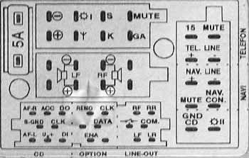 audi symphony 2 wiring diagram audi concert us pinout and wiring   old pinouts ru  pinout and wiring   old pinouts ru